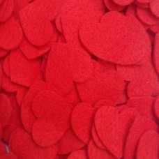 200 RED HEARTS 1.5CM