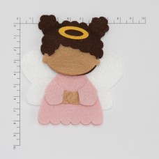 ANGEL BLACK GIRL PINK