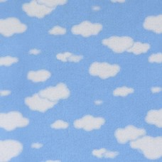 FELT SANTA FE COLLECTION FERNANDA LACERDA- CLOUDS BLUE